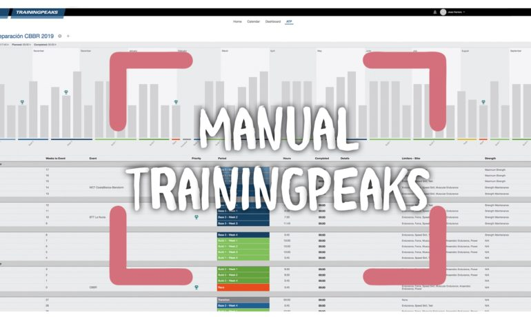 Manual de Training Peaks